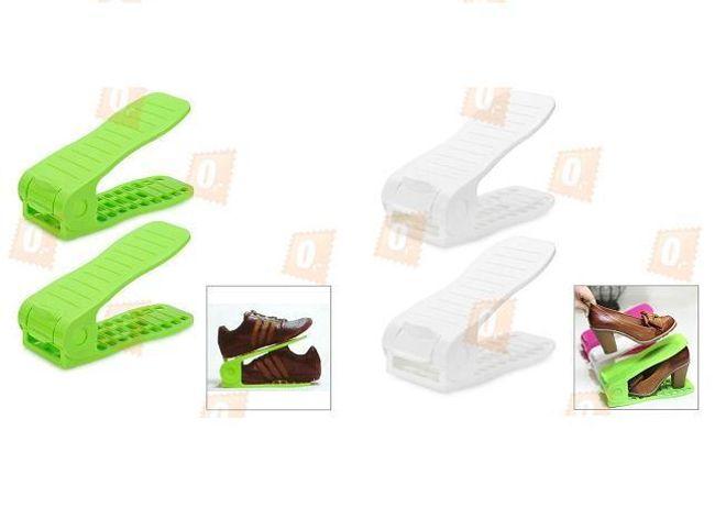 Plastový pořadač bot, 2 kusy - na výběr ze dvou barev 1