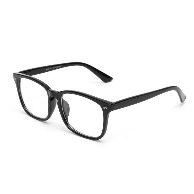 Designové nedioptrické brýle pro muže i ženy 1