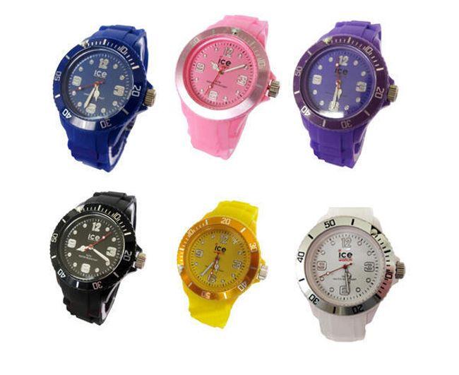 Nowoczesny silikonowy zegarek - oferujemy 6  kolorów 1