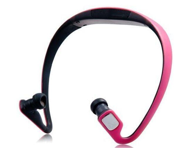 Sportovní MP3 přehrávač na microSD až 32GB - růžový 1