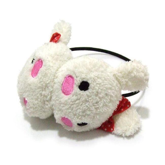 Dětské klapky na uši s motivem králíčka 1
