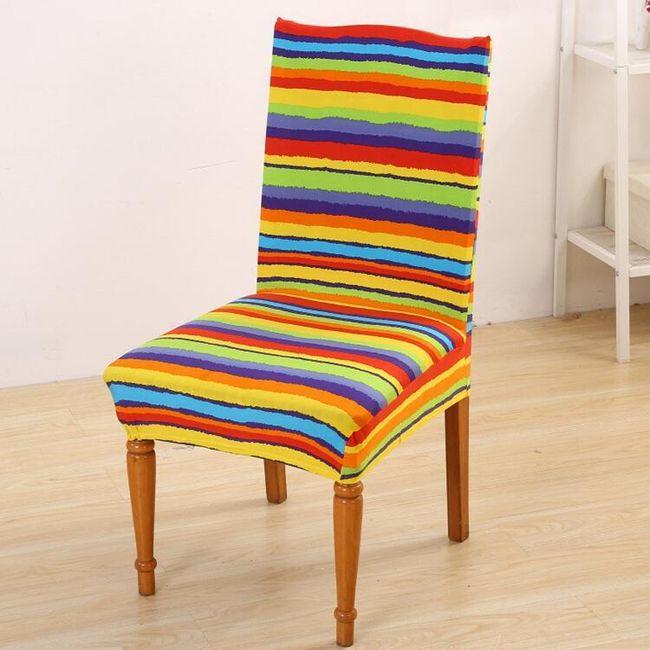 Универсальный натяжной чехол для стульев- 15 вариантов 1