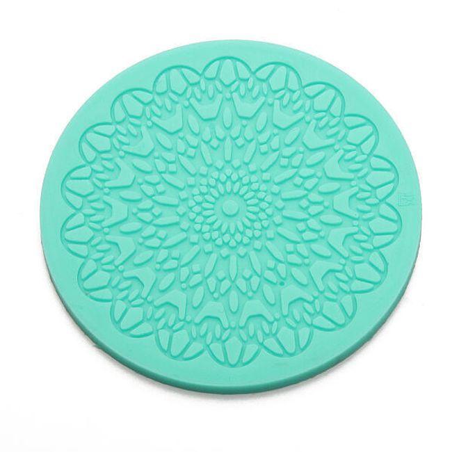 Silikonski okrugli kalup za ukrašavanje kolača 1