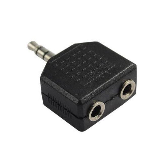 Rozdvojka na sluchátka pro MP3 přehrávače 1