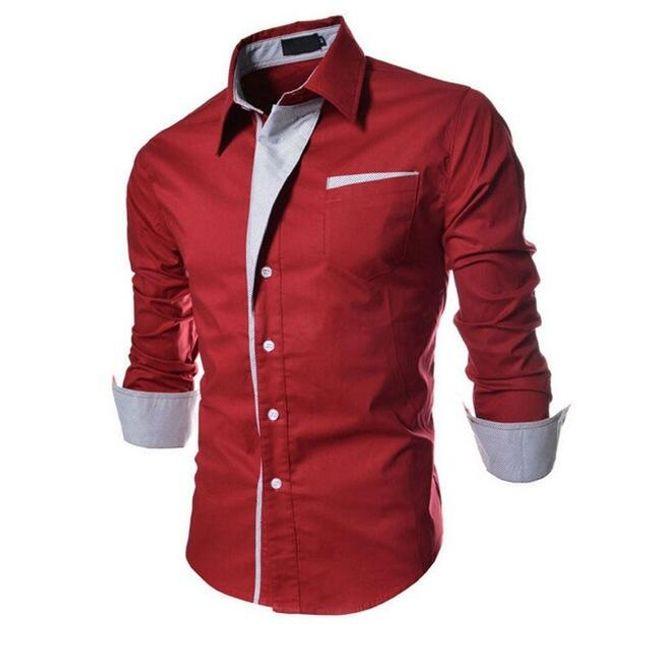 Elegantna moška srajca 1