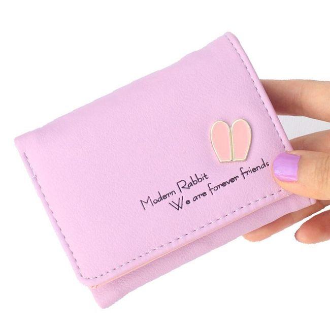 Női pénztárca nyúl füle - 5 szín