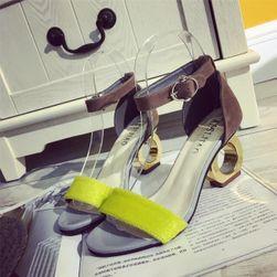 Dámské boty na podpatku Jilly