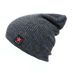 Zimní unisex pletená čepice