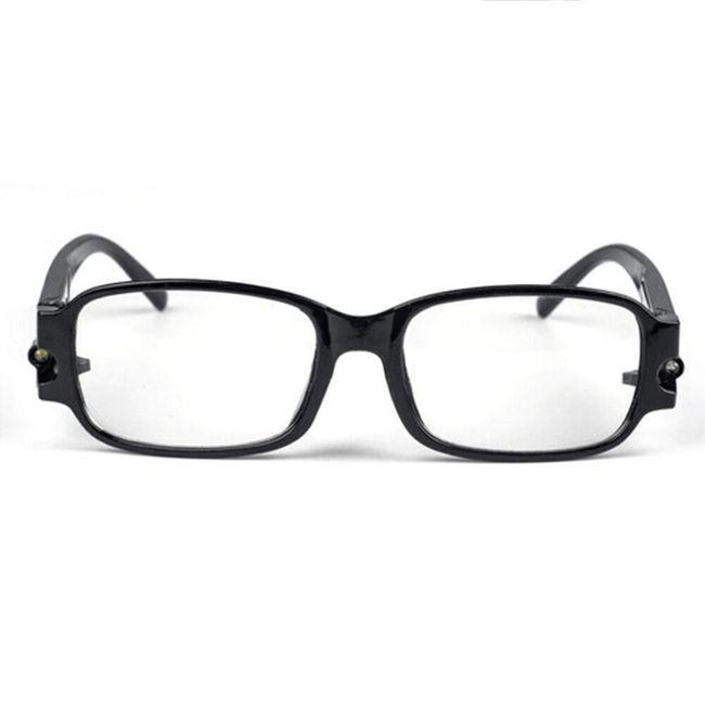 Očala za branje z LED svetlobo - 2 barvi 1