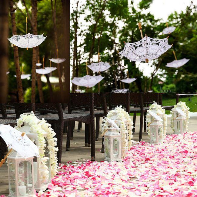 Свадебный декор- Зонт, 52 см. 1