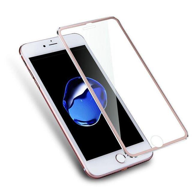 Tvrzené sklo s kovovým rámečkem pro iPhone 7 Plus 1