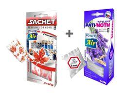 ANTI MOL 2x20g + tasak illatos táska 3x12g - Virág