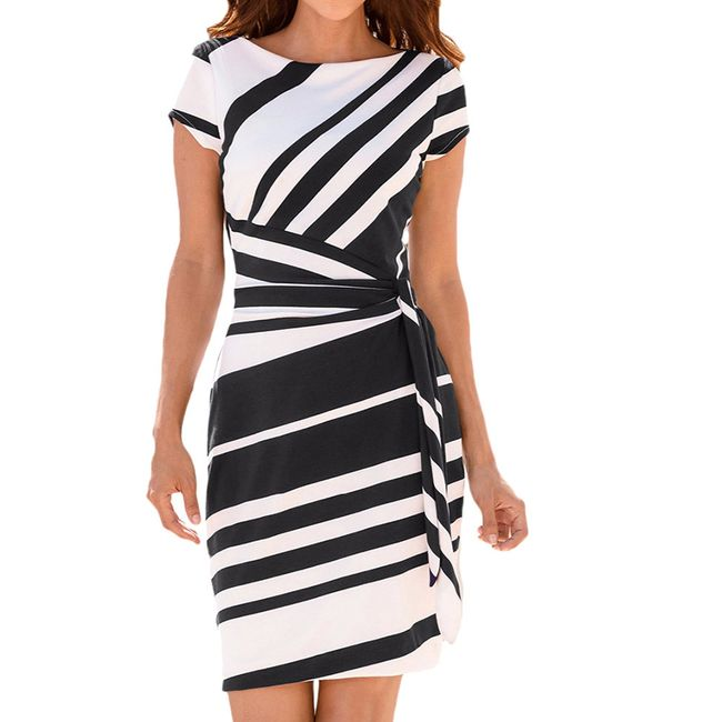 Ženska haljina Ava - 3 varijante 1