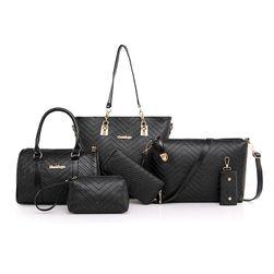 Set 6 ženskih torb - 6 barv
