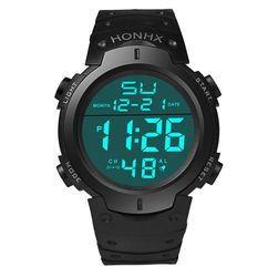 Cyfrowy zegarek męski - 4 warianty