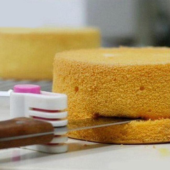 2 db késfogantyú sütemények szeleteléséhez 1