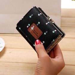 Dámská peněženka B02877 a Černá