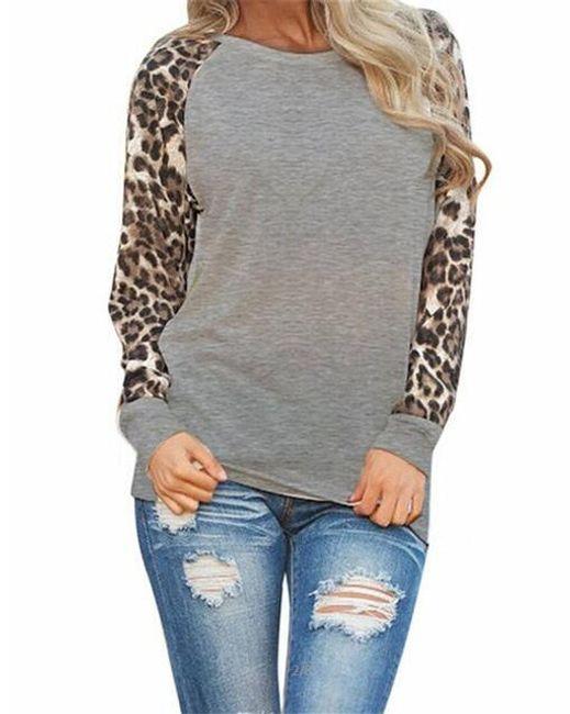 Ženska majica dugih rukava Oliva 1