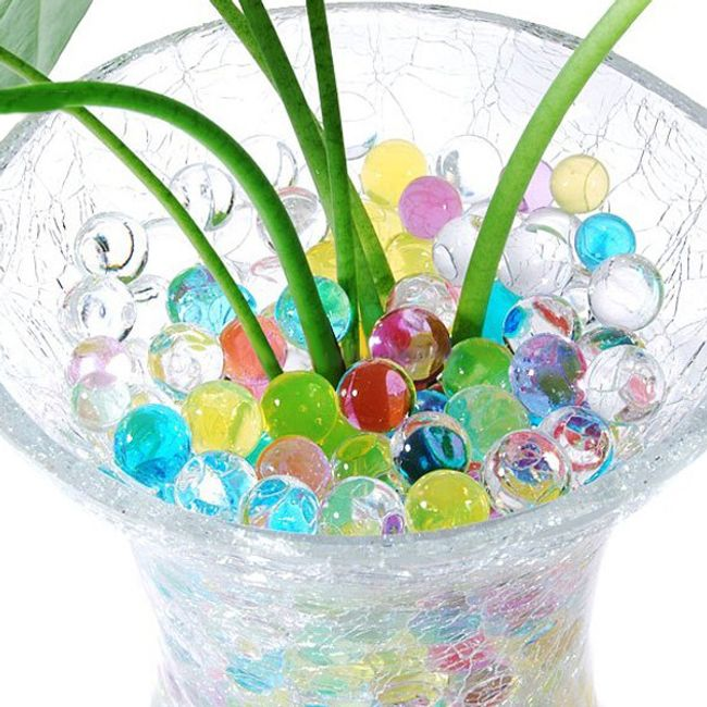 Декоративные шарики-гидрогель 1