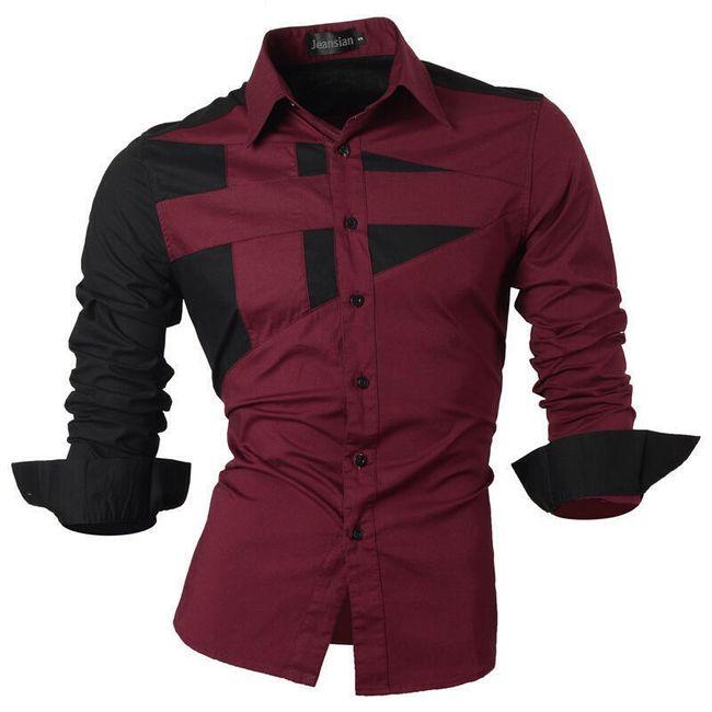 Pánská košile v neotřelém designu - 21 variant 1