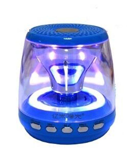 Bezdrátový bluetooth reproduktor - barevně svítící 1