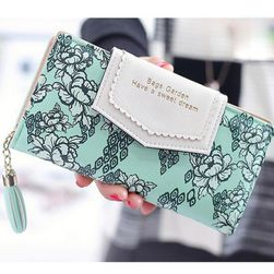 Dámská peněženka B01963 Zelená