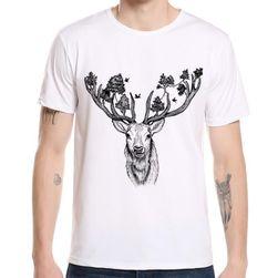 Pánské tričko s potiskem jelena - 10 variant