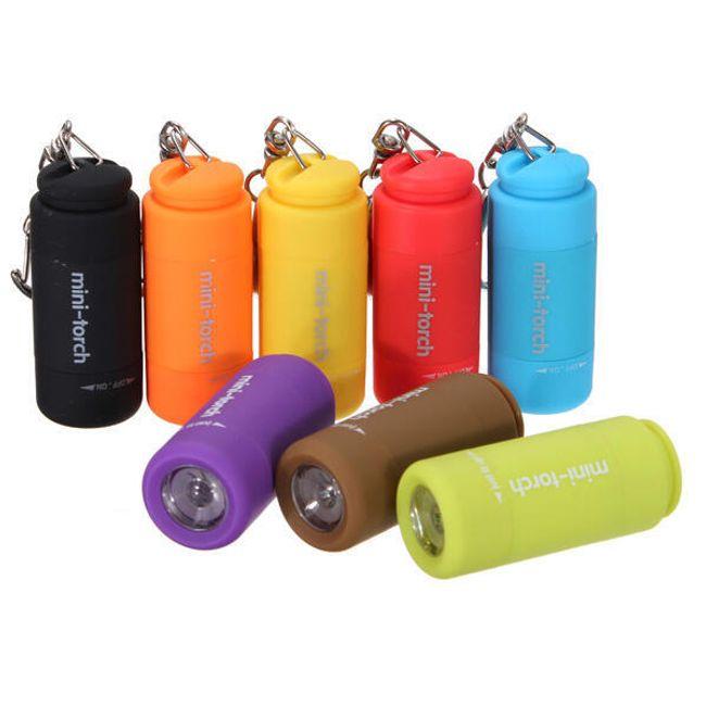 USB mini LED svítilna - na výběr z 9 barev 1