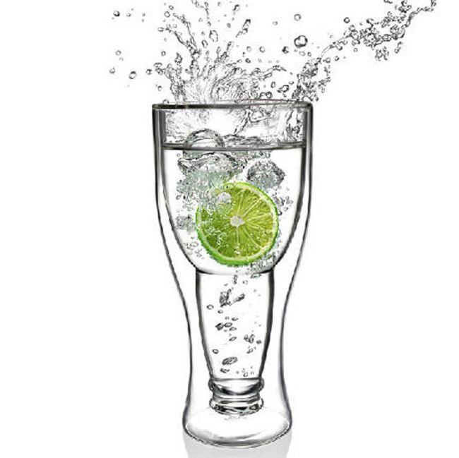 Originálně tvarovaná sklenice 1
