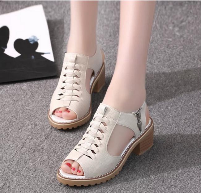 Женские сандали на каблуках Charlene 1
