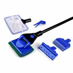 Nástroj na čištění akvária 5 v 1