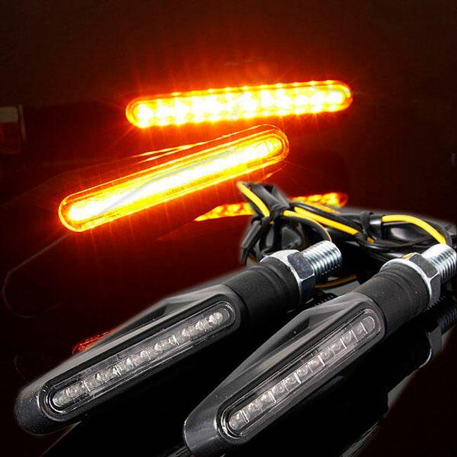 12 LED-es irányjelző motorkerékpárhoz 1