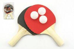 Sada stolný tenis 2 rakety + 3 loptičky na karte 18x29cm RM_00520181