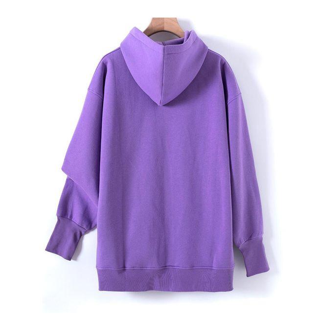 Női kapucnis pulóver Ee56