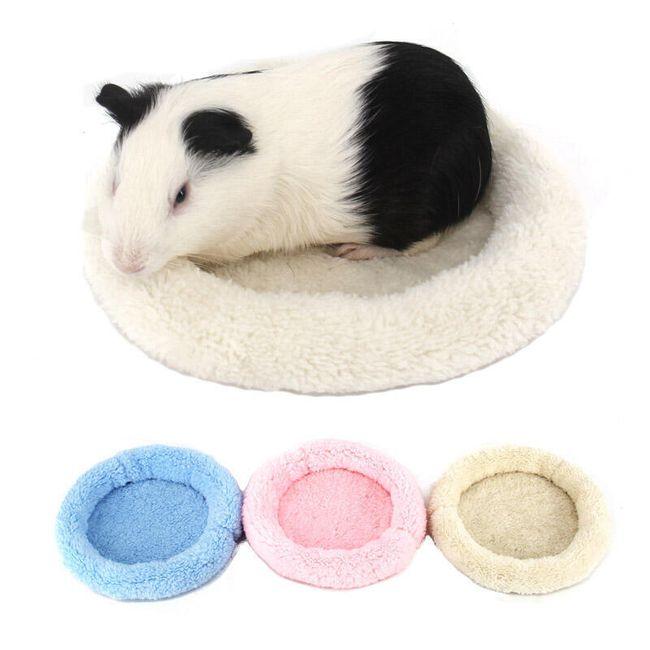 Теплый лежак для маленького домашнего питомца 1