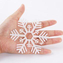 Autocolant pentru fereastră - fulgi de zăpadă