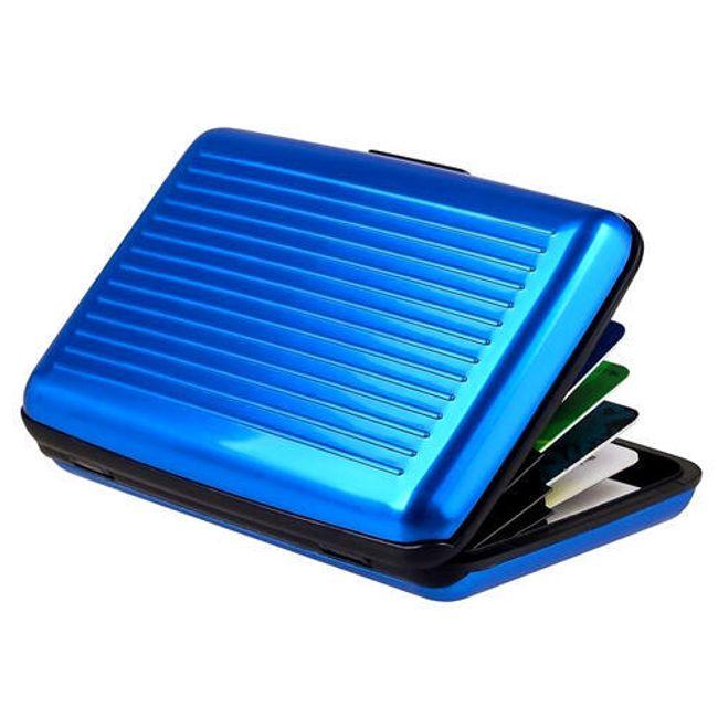 Ochranné pouzdro proti zneužití platební karty - různé barvy 1