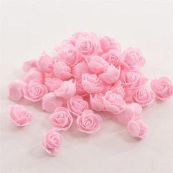 50 броя декоративни пянови рози