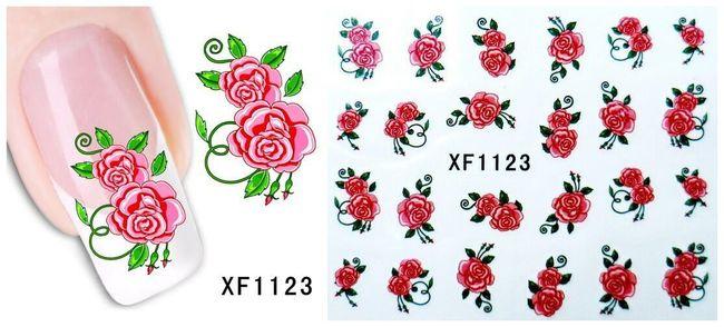 Elemente decorative adezive pt. unghii 1