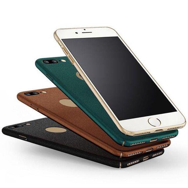 Zadní kryt pro iPhone 7 Plus v matném provedení - 7 barev 1