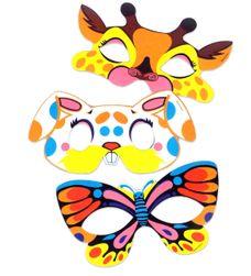 Mască de hârtie cu animale RZ_208377