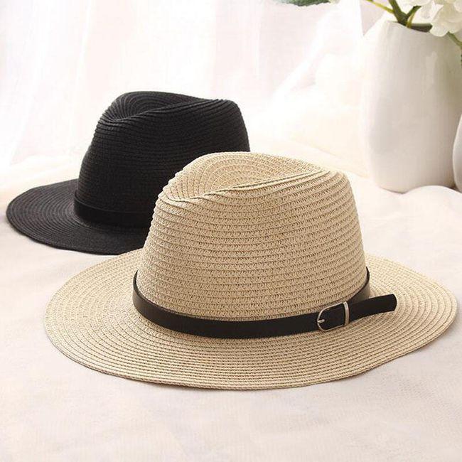 Ženski slameni šešir - 3 boje 1