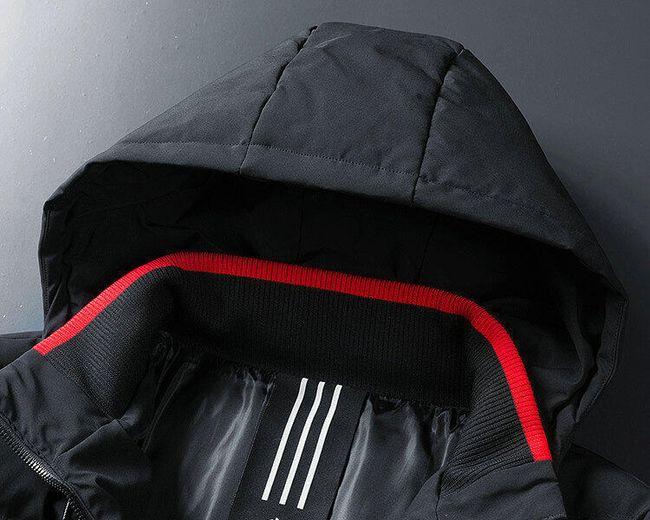 Férfi téli kabát Gustaw