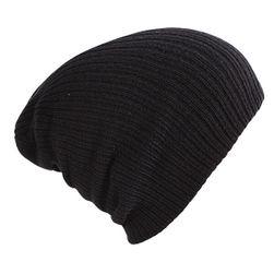 Вязаная зимняя шапка унисекс