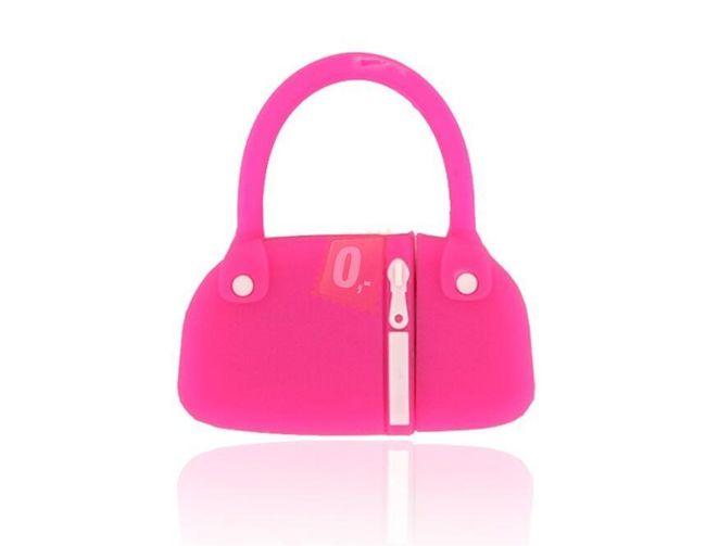4GB Flashdisk - kabelka (růžová) 1