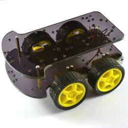Intelligens autó futómű - 4WD