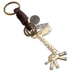 Kulcstartó zsiráf