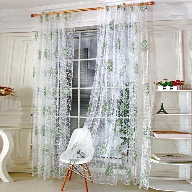 Dekorativne zavese iz tila 1