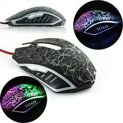 Myszka optyczna z oświetleniem LED do gier