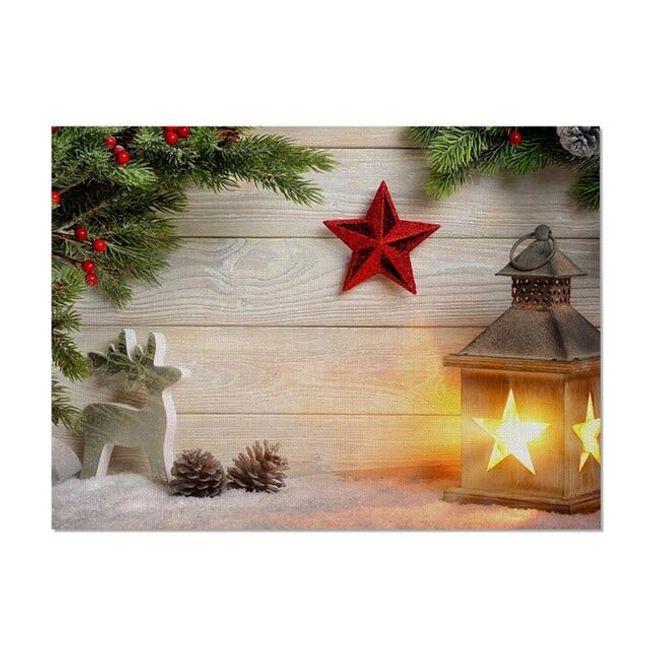 Bożonarodzeniowe nakrycie stołu Gt4 1